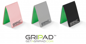 The best way to stick phone to wall, or to stick phone to any surface - GRIPAD